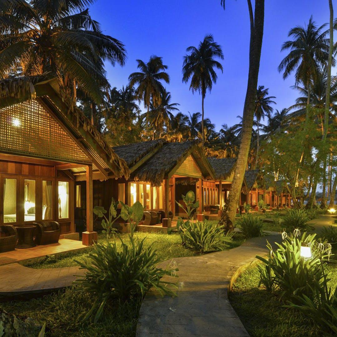 Property,Home,Resort,House,Real estate,Lighting,Palm tree,Tree,Estate,Building