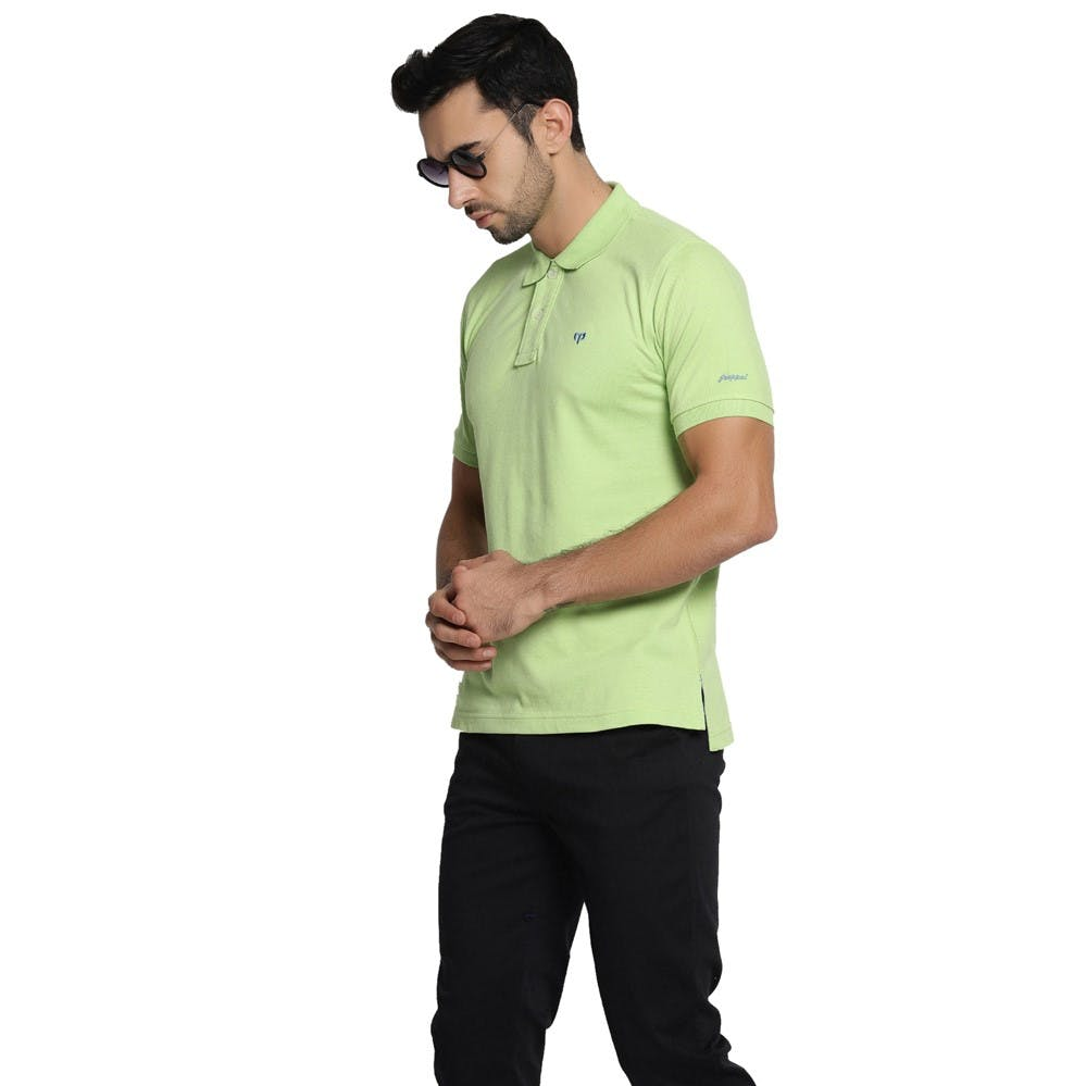 Clothing,T-shirt,Green,Sleeve,Yellow,Collar,Polo shirt,Pocket,Sportswear,Neck
