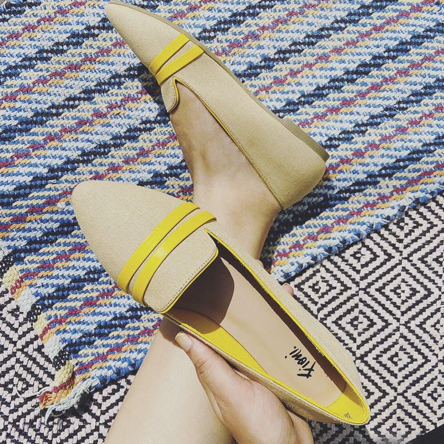 Footwear,Yellow,Shoe,Beige,Espadrille
