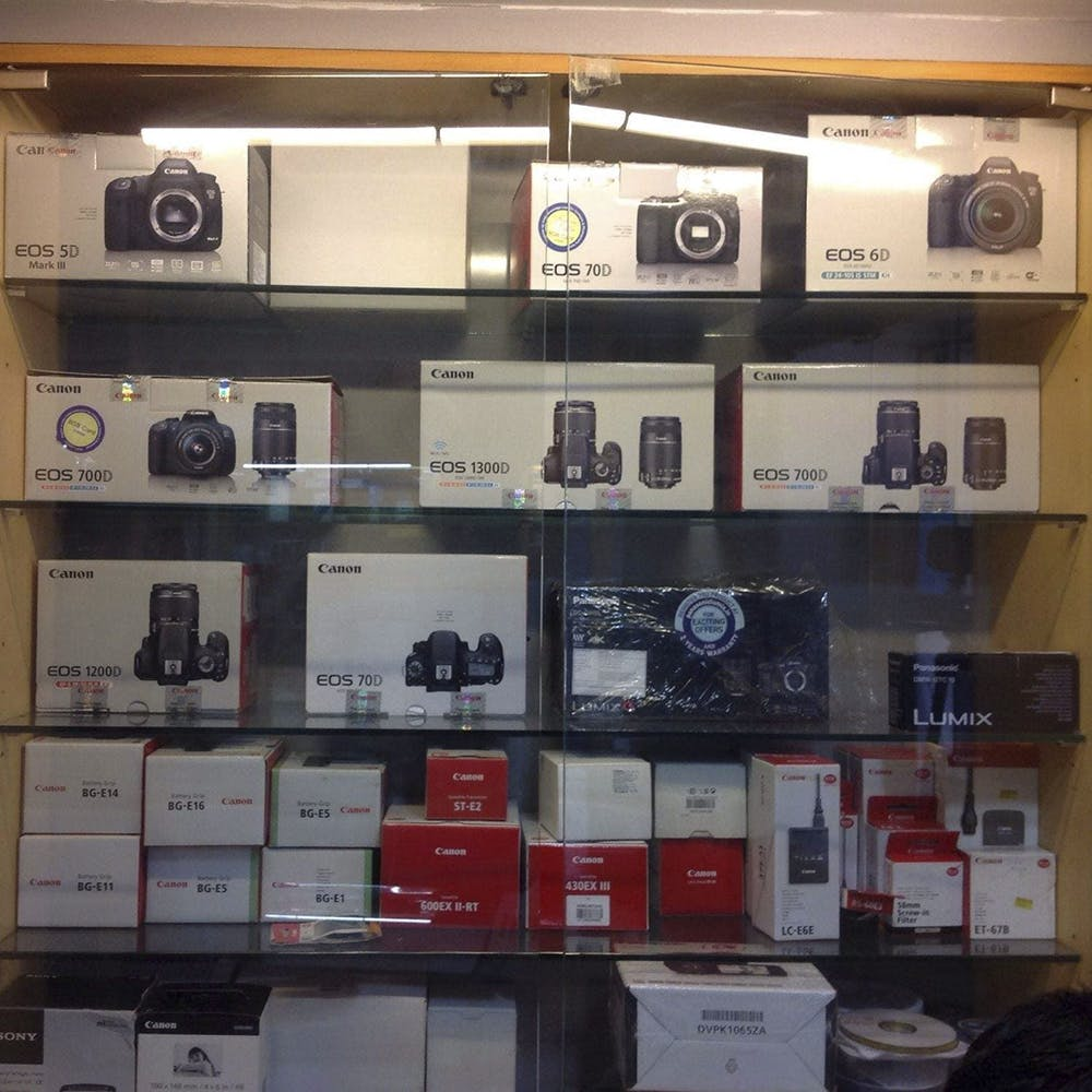 Electronics,Collection,Shelf,Technology,Room,Display case,Electronic device,Building,Furniture,Shelving