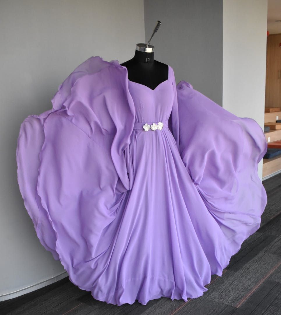 Purple,Clothing,Violet,Lilac,Lavender,Dress,Pink,Outerwear,Formal wear,Gown