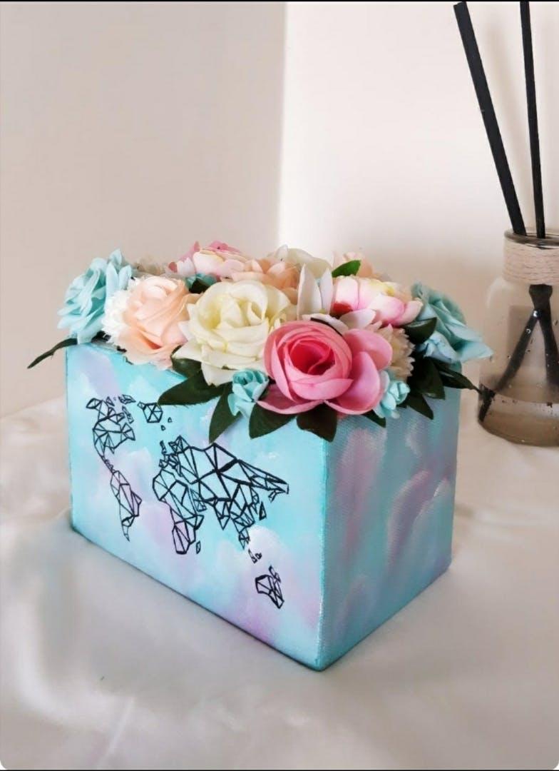 Pink,Flower,Turquoise,Rose,Plant,Wedding ceremony supply,Bouquet,Party favor,Cut flowers,Petal