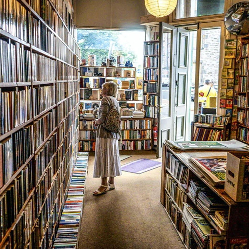 Clothing,Bookcase,Shelf,Furniture,Book,Light,Shelving,Publication,Interior design,Retail