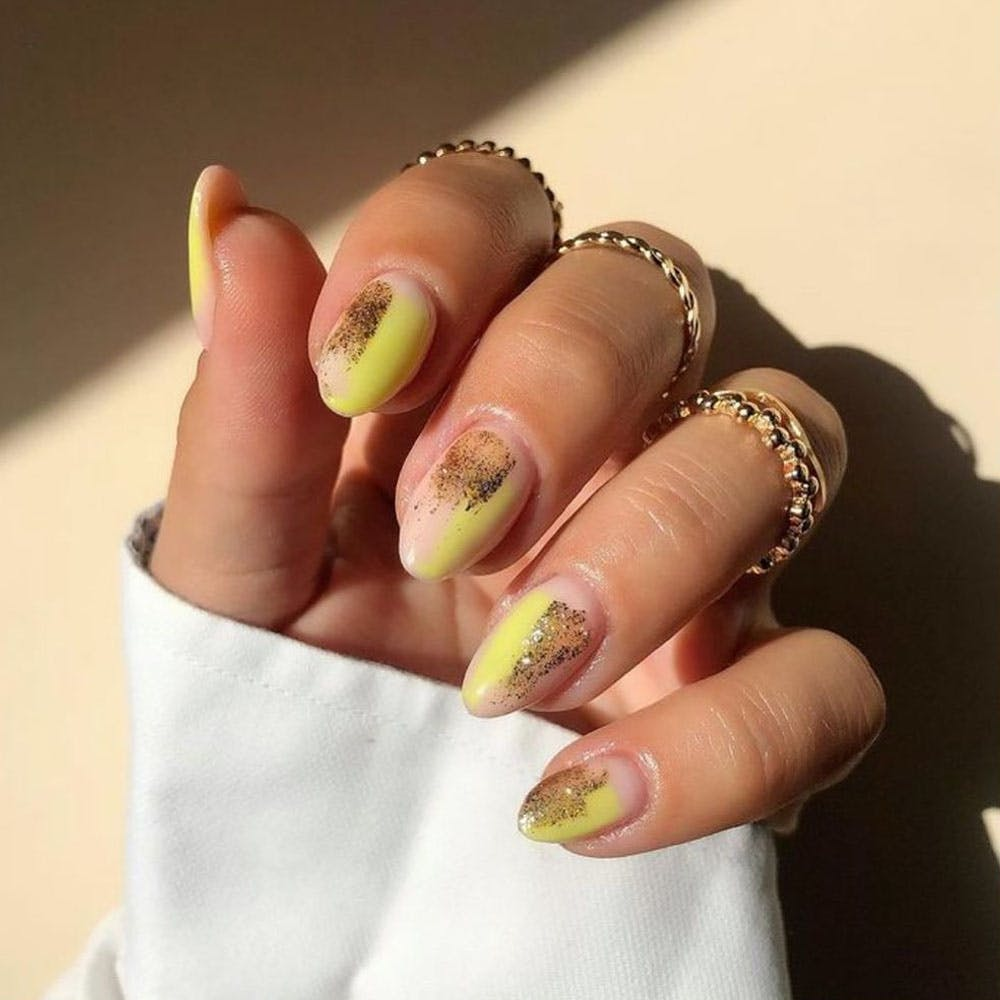 Nail polish,Nail care,Manicure,Gesture,Body jewelry,Finger,Thumb,Nail,Wedding ceremony supply,Wedding ring