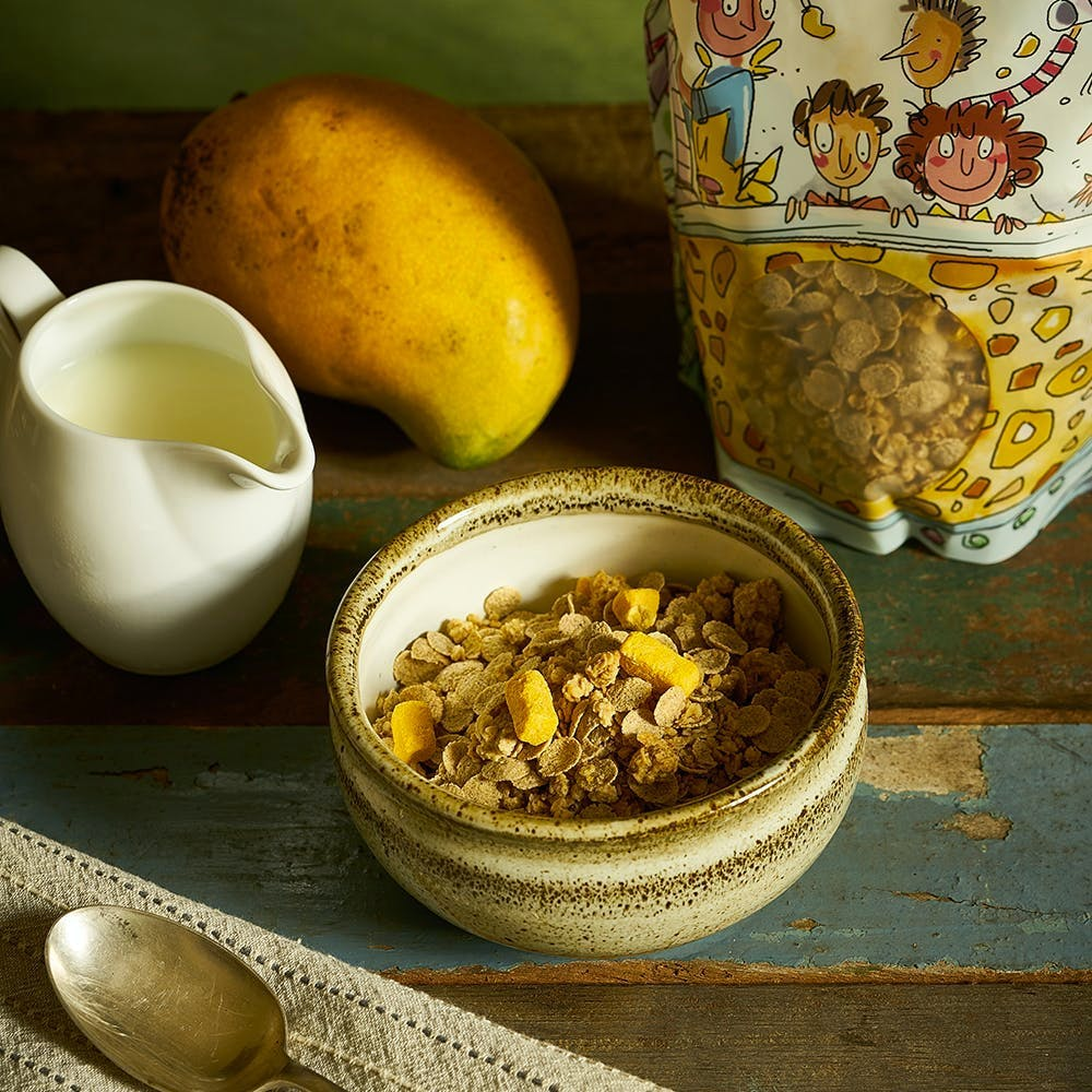 Oat Clusters & Multigrain Flakes with Mango (350g)