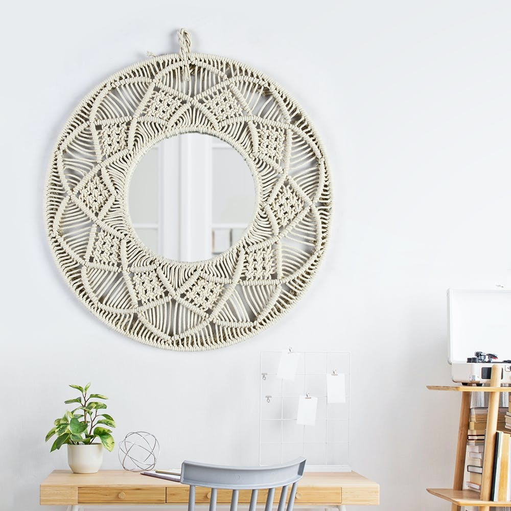Furniture,Plant,Table,Ornament,Wood,Houseplant,Wall,Chair,Art,Circle