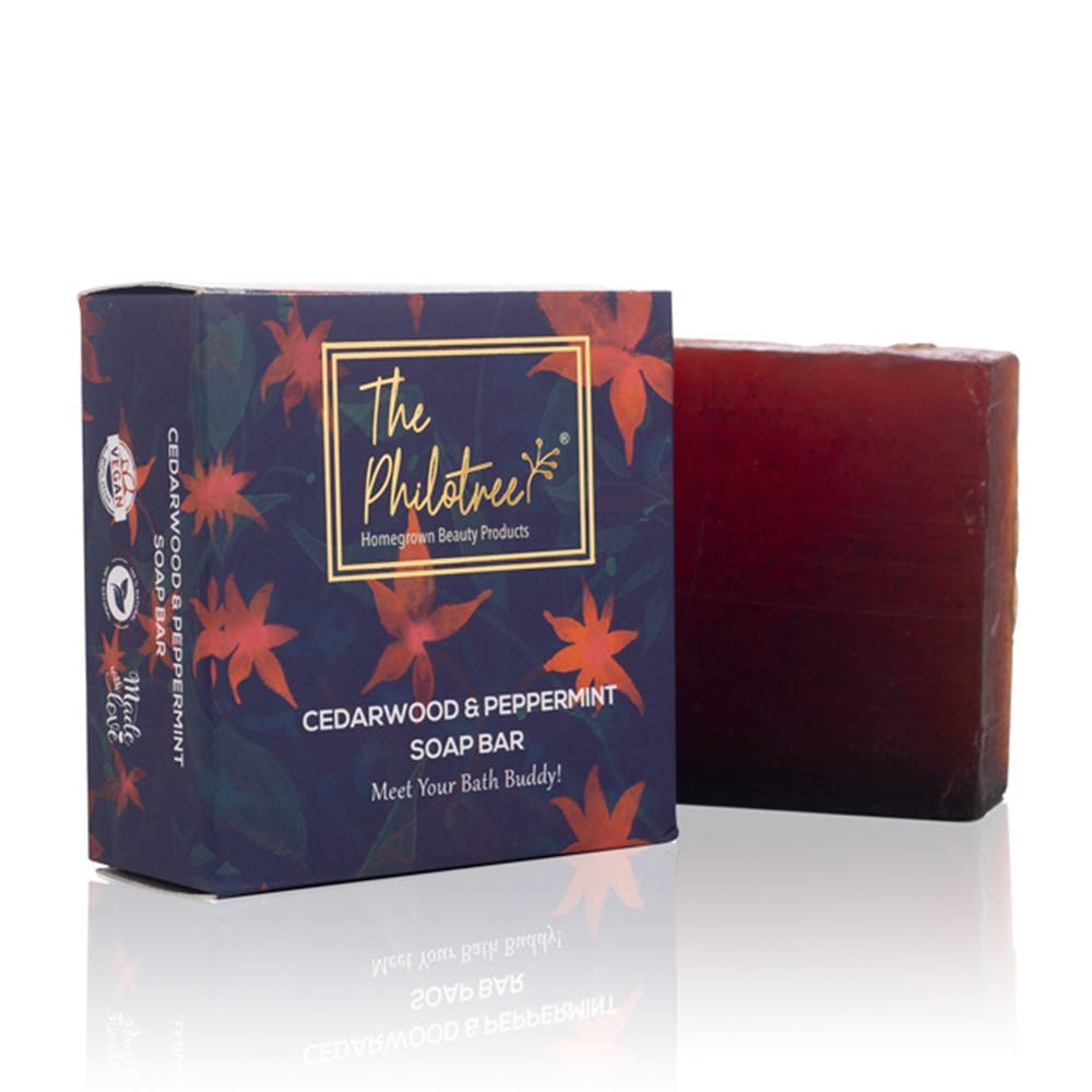 Cedarwood and Peppermint with Sandalwood Soap