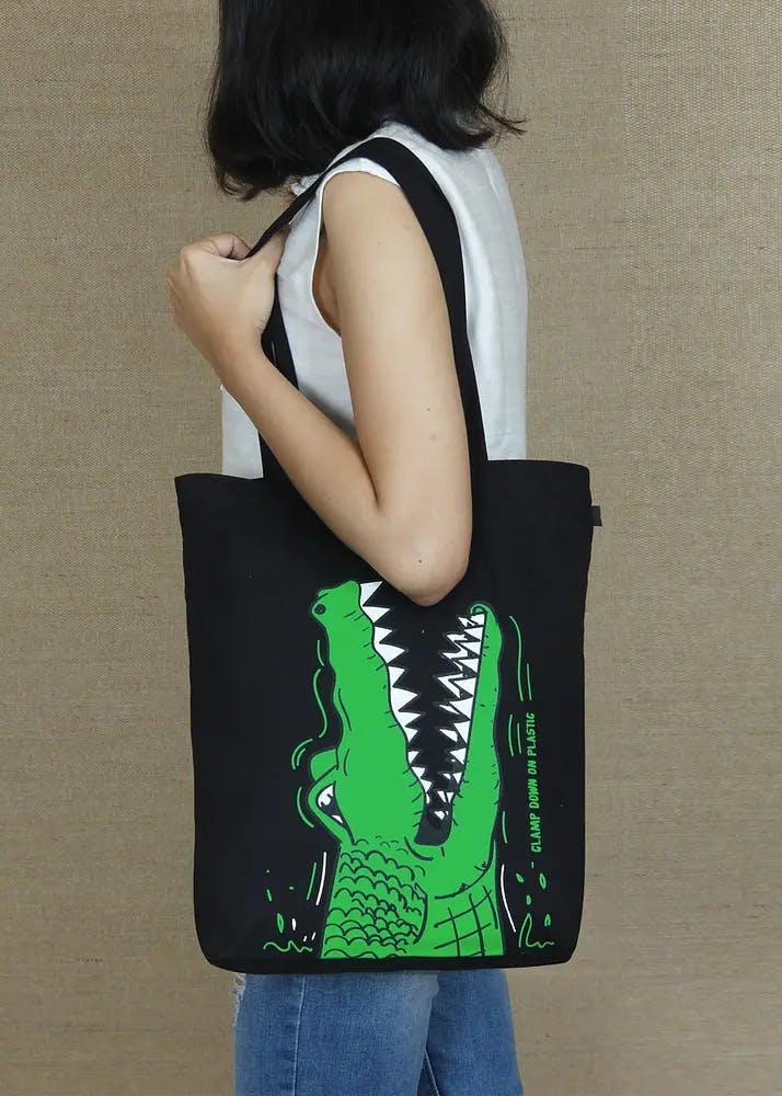 Crocs Printed Tote