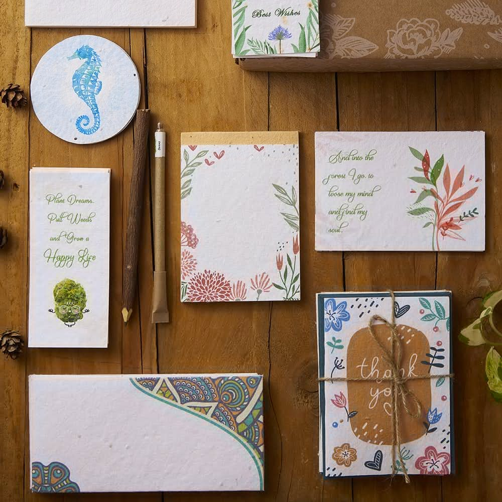 Seed Paper Stationery Kit
