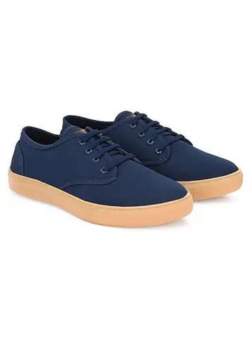 Men Contrast Broad Sole Detail Basic Casual Sneakers