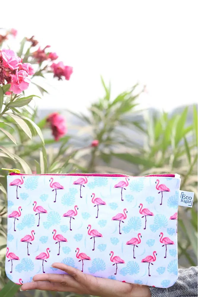Flamingos Cosmetic Pouch