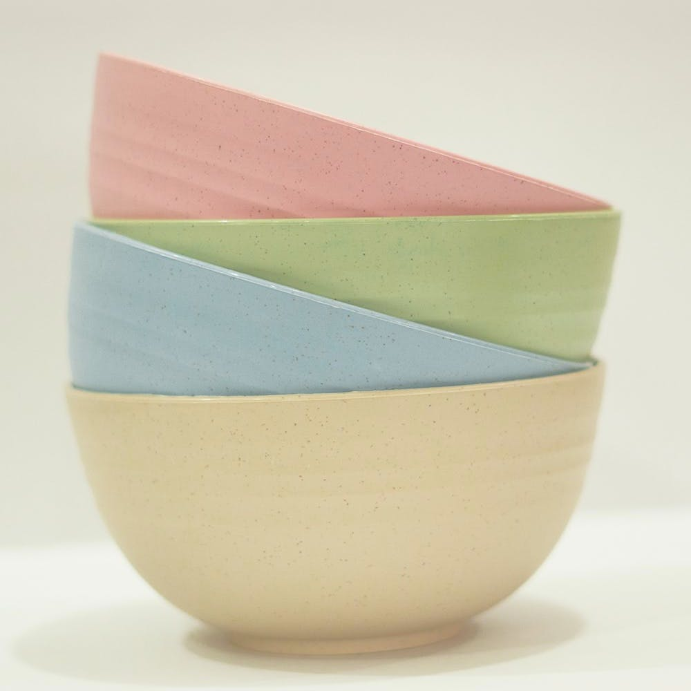 Unbreakable And Eco-Friendly Lightweight Reusable Bowls - Assorted Pack of 4